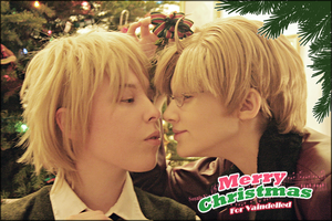 APH - Under the Mistletoe by Asumaruu