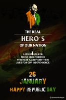 Republic day Poster by DxDharmen