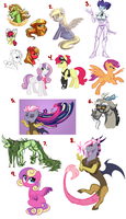 MLP Art Dump 6 by Lopoddity