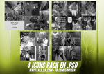 4 icons pack en .psd by ephyreia