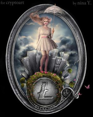 Cryptocurrency__LITECOIN by nina-Y