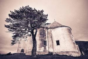 Old Church ::warm duotone:: by d-minutiv