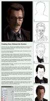 Creating Gary Oldman by BikerScout