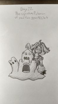 30 Day Pokemon Challenge day 22 by Gumbi-Chan