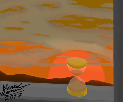 Solar Sands - Sunset by MarkedLoner