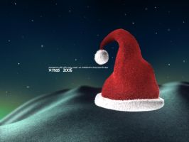 X-mas 2006 HAT by adox-tnw