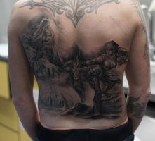 Fantasy backpiece by strangeris