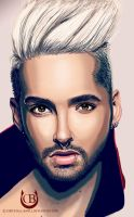 Bill Kaulitz by Chrystall-Bawll