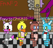 fnaf 2 new animatronics by pokemonlpsfan