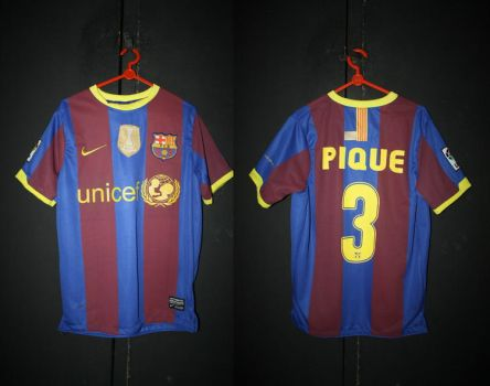 jersey barcelona pique by paradigma-rby
