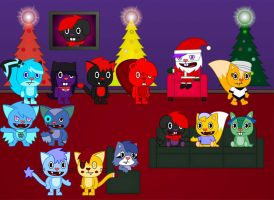 HTF Christmas Party 2012 by Baron-Redbeaver
