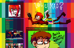 New Tumblr Design by Krooked-Glasses