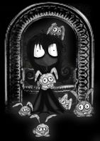 Soot girl and the dust Bunnies by Lttle-Horrors