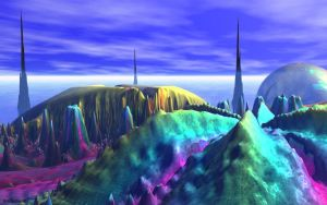 Splendid Spires View 2 by Don64738