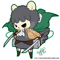TPS: Shingeki no Grumpy Sheep by MoogleGurl