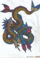 sea serpents by rahloo