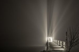 Misty bridge by BIREL
