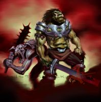 Orcs. by Caveatscoti