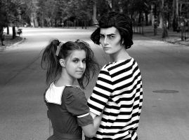 Sweeney Todd and Mrs Lovett cosplay by Dijjou
