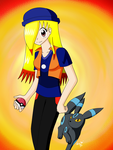 With Shiny Umbreon by Seiryu6
