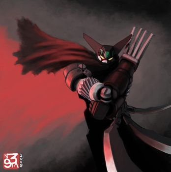 BLACK GETTER RYOMA MODE,2009 by InsomIA3