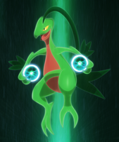 Grovyle energy ball's