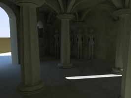 3D - Sala do Capitulo interior by Ricardoc24