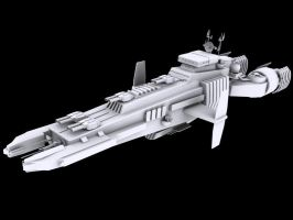 Starship WIP 1 by Rebelmoon