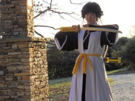Soi Fon-Sting all Enemies to Death Suzumebachi by BloodFox94