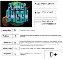 Planet Sheen scorecard by Ragameechu