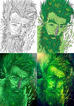 Lord of the forest - Making of by Lord-Corr