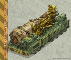 Superheavy Transport Concept by MikeDoscher