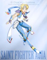 Saint Fighter Aqua by Drachea by Scions-of-the-Stars