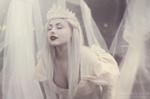The White Queen VII by Michela-Riva