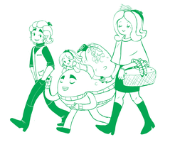Family outting by MissPomp