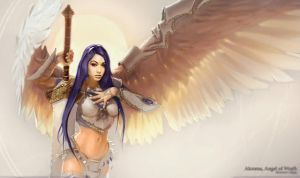 Misa Campo on Akroma Angel by MTGeek