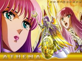 wallpaper athena divina by CHangopepe