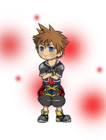 Chibitized Sora by VanillaKeyblade