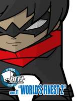 BIT+ Series 11 World's Finest Nightwing DC52 by IdeatoPaperStudios