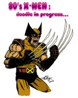 Eighties Wolverine by mikey-c