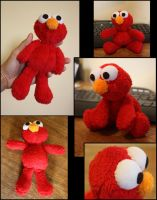 Elmo Plushie by puimun