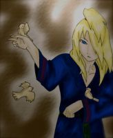 Deidara: Birds by doll-fin-chick