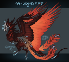 48 Undying Flame by AriiKnave