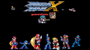 megamanx generations by 100hypersonic