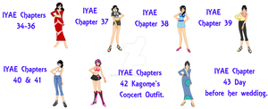 Kagome SSMU IYAE GroupV2 by smcandy