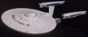 USS Enterprise-A Beauty by Roguewing