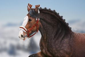 -= Special reindeer =- by Naia-Art