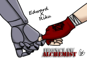 FMA OC - Holding Hands by Xcas92X
