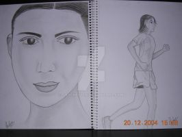 Basic Drawing - Human features by JasChester