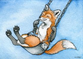 ACEO - Zero Fox Given by M-Everham